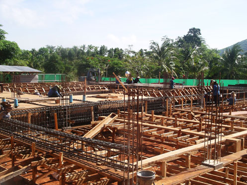 Prepare Beam & Slab Work