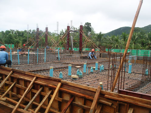 Prepare Slab Work